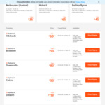 Jetstar Domestic OW Sale from $31 - Eg Adelaide <> Melbourne (AVV) $31, Syd <> Mel $39, Syd <> Gold Coast $43 @ Jetstar