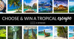 Win a $6,000 Voucher Towards a Holiday in Fiji, Bali, Lombok, Phuket or Port Douglas for 2 from Hunter & Bligh