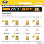 25% off Advocate for Dogs/Cats (& Extra $10 off for New Members) + Free Delivery over $49 @ My Pet Warehouse