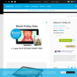 Wacom Cintiq 16 DTK-1660/K1-C - $799 (Save $100) @ Buy Wacom