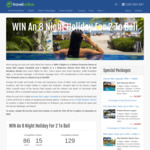 Win a Bali Getaway for 2 Worth $4,964 from Travel Online
