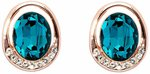 Pica Léla Carolina Turquoise Earrings $49 (Save $57) + $10 Delivery ($0 with Order over $100) @ Pica Léla
