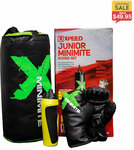Junior Minimite Boxing Set – Xpeed $24.95 + Delivery @ Fitness Warehouse