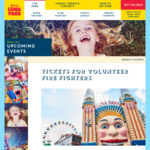 [NSW, BF] 4 Free Twilight Tickets for RFS and Interstate/OS Firefighters to Luna Park Sydney