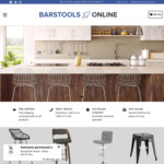 10% off All Bar Stools + Free Shipping @ Bar Stools Online