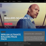 Win a Ballers Prize Pack Worth $264.96 or 1 of 5 Ballers Season 5 DVDs from Roadshow