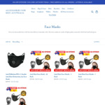 Up to 40% off Face Masks + Free Delivery @ Accessories For Men