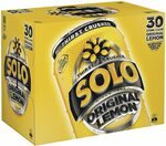 30 x 375ml Soft Drink Cans: Solo $14, Pepsi Max $14 (Expired), Pepsi $16 (Expired) + Del ($0 w/ Prime/ $39 Spend) @ Amazon AU