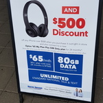 Bonus Beats Solo3 and $500 Discount When Purchase iPhone over $500 Outright and Sign up to $65 Optus Plan 24M @ Harvey Norman