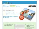 Free 50 Photos Print with Free Delivery from Snapfish (New Signup Only)