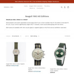 Seagull 1963 New Edition Watches 15% Off (e.g. Seagull 1963, 38mm, Acrylic - €239.00 (AUD$398.51) Delivered @ Seagull1963