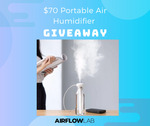 Win a Portable Air Humidifier Worth $70 from Airflow Lab
