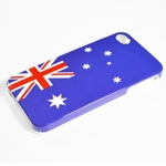 Flag Style Hard Cover Case for iPhone 4, $0.99, Free Shipping