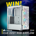 Win a Corsair iCUE 220T RGB Airflow Mid Tower Chassis Worth $179 from PC Case Gear