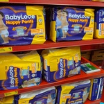 BabyLove Nappy Pants Size 12-17kg $5 for 25 Pack @ Reject Shop (in Store Only)