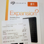 [Nationwide] Seagate 2TB Expansion Portable Hard Drive $59.95 @ Australia Post (in Store Only)