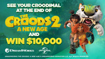 Win $10,000 Cash & a DreamWorks Illustration Worth $14,000 from Seven Network