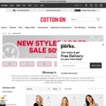Cotton On (Supre) Sale up to 60% off