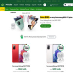 [Pre Order] Samsung S20 FE from $49/Month (Min Cost $1,069) + Bonus Samsung Buds Live @ Woolworths Mobile