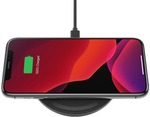 Kogan Belkin BOOST CHARGE 10W Wireless Charging Pad - Black $39 + Shipping (Free Shipping with Kogan First) @ Kogan