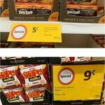 [NSW] Tim Tam Orange and Dark Choc $0.05, Arnott's Shapes Savory $0.09 @ Coles Lindfield