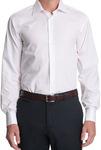 100% Cotton Jeff Banks Half Cutaway Collar Business Shirt $21 (RRP $79.95) @ Myer or eBay Myer