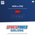 Win a PlayStation 5 from Sportspower Geelong