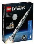 LEGO Ideas NASA Apollo Saturn V 92176 $135.20 Delivered @ Target