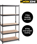 5-Tier Boltless Shelving Unit $39.99 @ ALDI