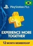 PlayStation Plus 12 Month Membership Digital Code (for Brazil PSN Accounts) A$36.39 @ CD Keys