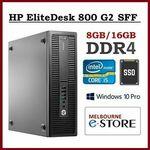 [eBay Plus, Refurb] HP EliteDesk 800 G2 SFF i5-6500 8GB New 240GB SSD Win10Pro $354.24 & More Delivered @ Melbourne-eStore eBay