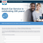 Win 1 of 55 $250 VISA Gift Cards from Bosch