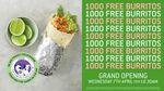 [WA] Free Burritos from 10:30am 7/4 @ Zambrero (Perth)
