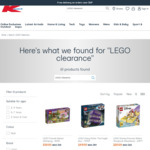 LEGO Clearance Sale $2-$129 in-Store (+ Delivery or $3 C&C Fee Where Applicable) @ Kmart