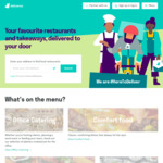 $15 off $25 Spend for New Users @ Deliveroo