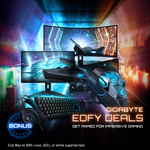 Free AORUS K1 Keyboard or H1 Headset with Select Gigabyte Monitors (e.g. K1 with G34WQC) from Any Australian Retailer @ Gigabyte