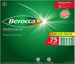 [Prime] Berocca Energy Vitamin Tablets 75pk Berry $16.60 S&S, Orange $17.13 S&S (or $20 Each) Delivered @ Amazon AU