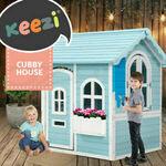 Keezi Kids Cubby House $157.95 Delivered @ Ozplaza.living eBay