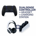 Sony PlayStation 5 DualSense Wireless Controller + Pulse 3D Wireless Headset + Charging Station Bundle $249 C&C @ EB Games
