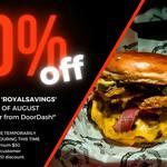 [WA] 50% off RoyAl's Chicken and Burgers (Minimum $30 Spend, Maximum $20 Discount) @ DoorDash
