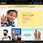 Bonds Zip Hoodies $20, Originals Pullover $10, Originals Long Sleeve Tee $10 + Delivery (Free for Members) @ Bonds