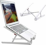Portable & Adjustable Laptop Stand $8.39 + Delivery ($0 with Prime/ $39 Spend) @ Weeland-AU via Amazon AU