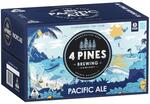 4 Pines Pacific Ale 24x330ml bottles $25.20, Draught $29.25 + Delivery @ Catch