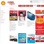 Coles Express 15% off Telstra/Vodafone/Virgin/Optus/iTunes Pre-Paid Recharge Voucher w/ ATM Txn