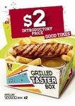 KFC Taster Box $2