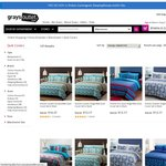 Dickies QB Quilt Cover Set $19.77, Single $13.17, Double $16.47 Delivered