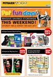 Petbarn Weekend Sale - Purina Fancy Feast 69c Each + 20% Various Products