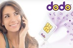 $9 Dodo® Magic Sim Unlimited Starter Pack with 10GB of Data, Includes Nationwide Delivery
