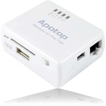 APOTOP DW09 Wireless Card Reader & Router iPhone/iPad £25.97+£1.95 Delivery (AUD $45.96)