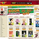 25-85% OFF All Books @ QBD for 24 Hours